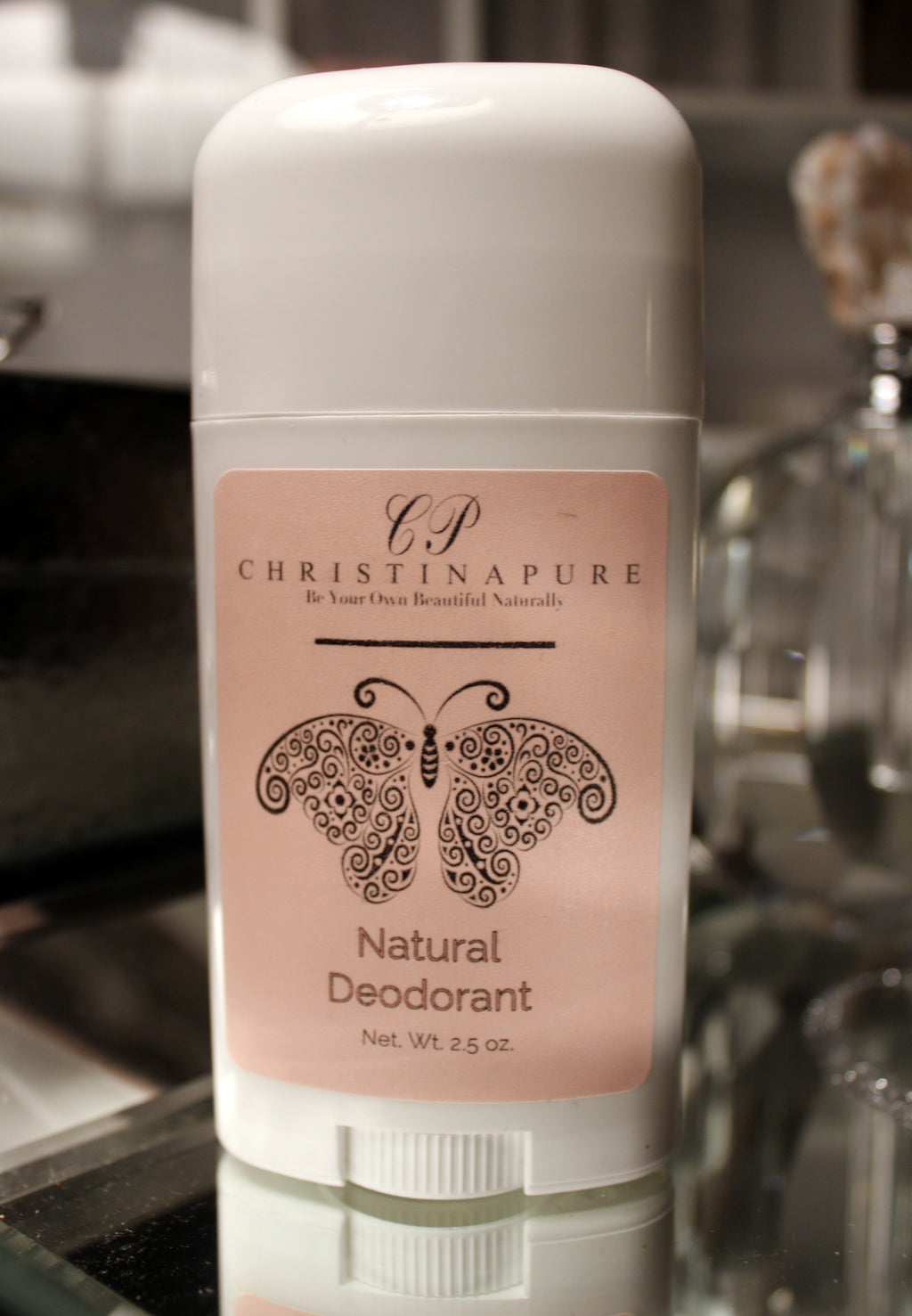All Natural Rose and Vanilla Deodorant for Women - ChristinaPURE