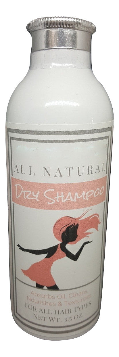 All Natural Dry Shampoo Powder Shaker