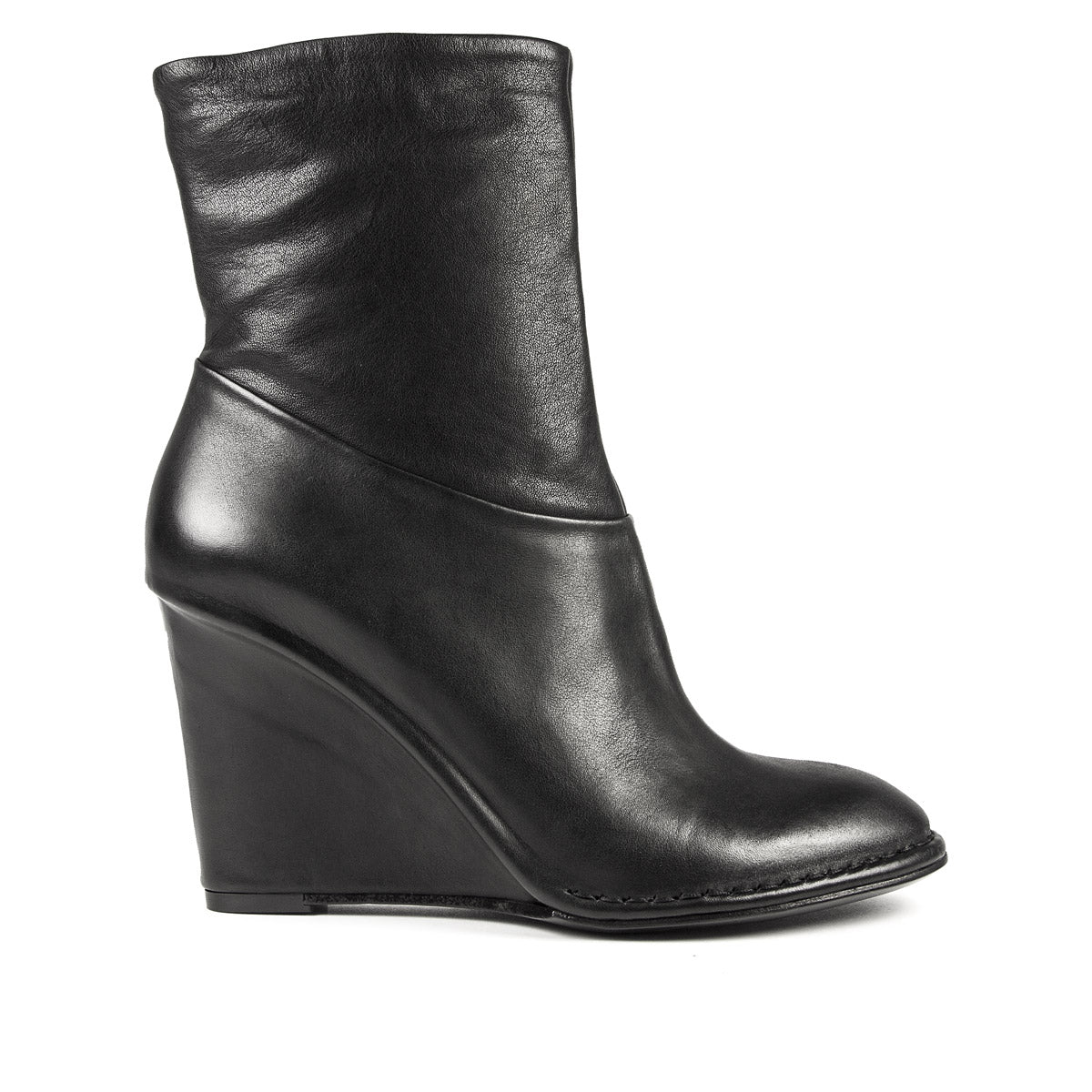 ANKLE BOOT 10647 Nero