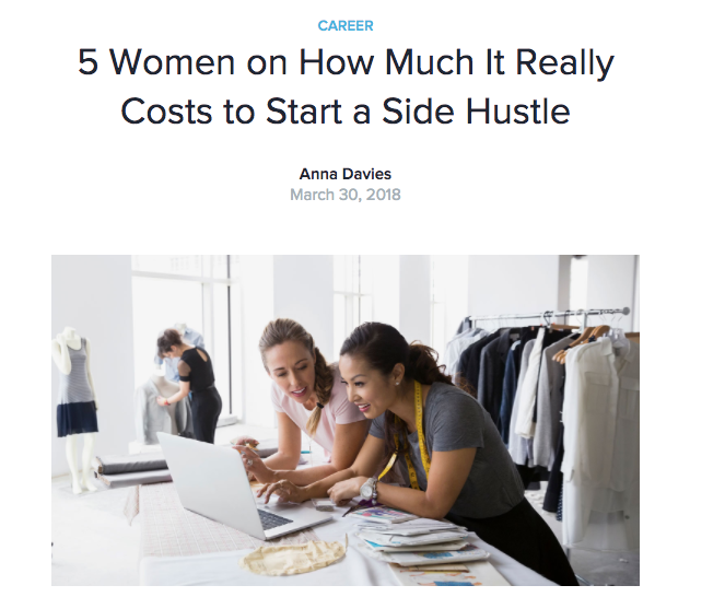 How Much It Really Costs to Start A Sidle Hustle