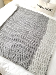 The Lopi Throw - Hand Knit Icelandic Wool