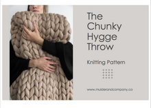 KNIT-KIT - THE HYGGE THROW