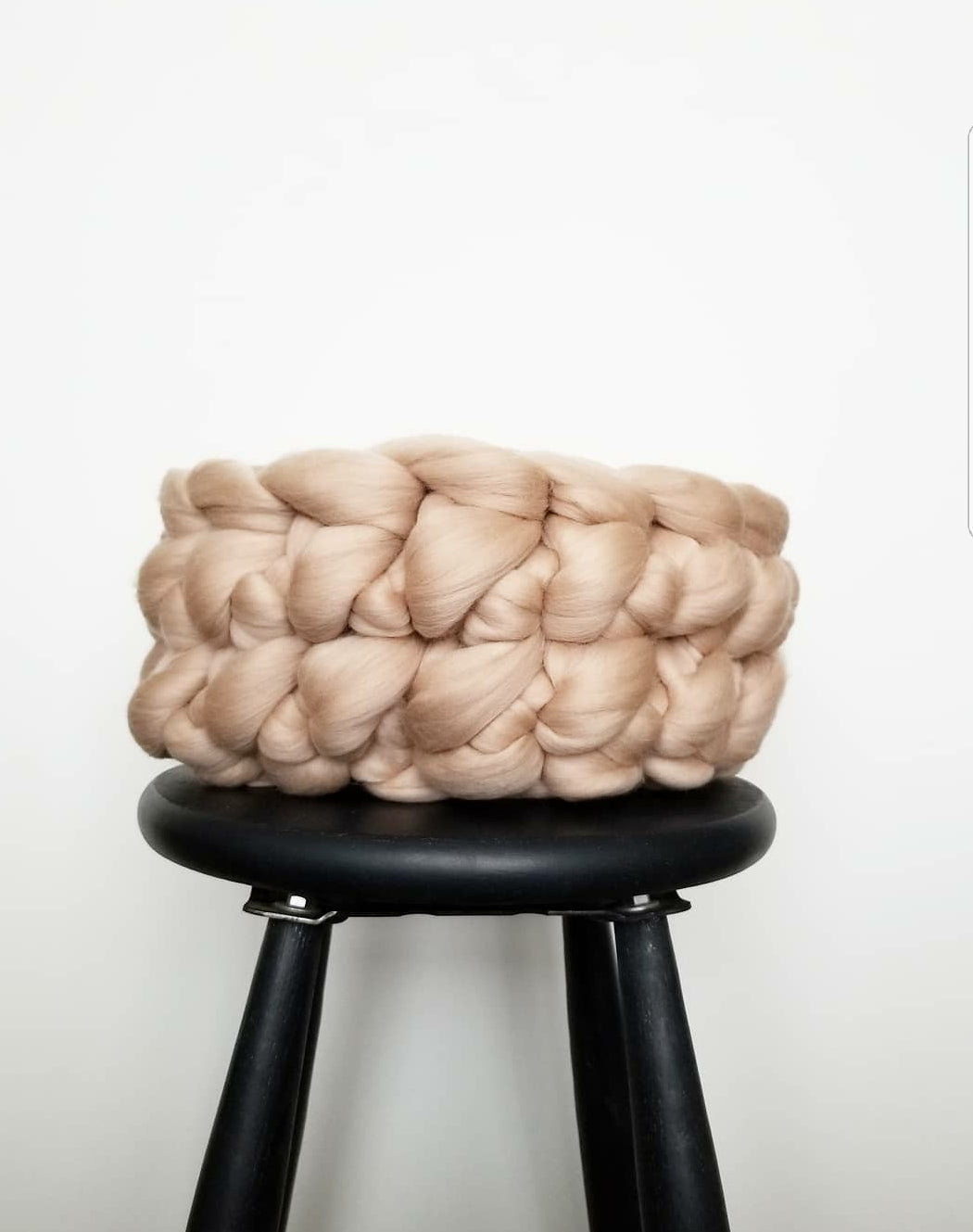 Knit Basket - Small + Fawn