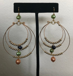 Treska earrings Hoops