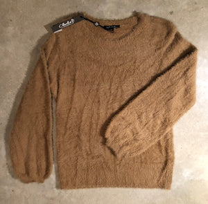 Charlie B - supersoft sweater - Camel
