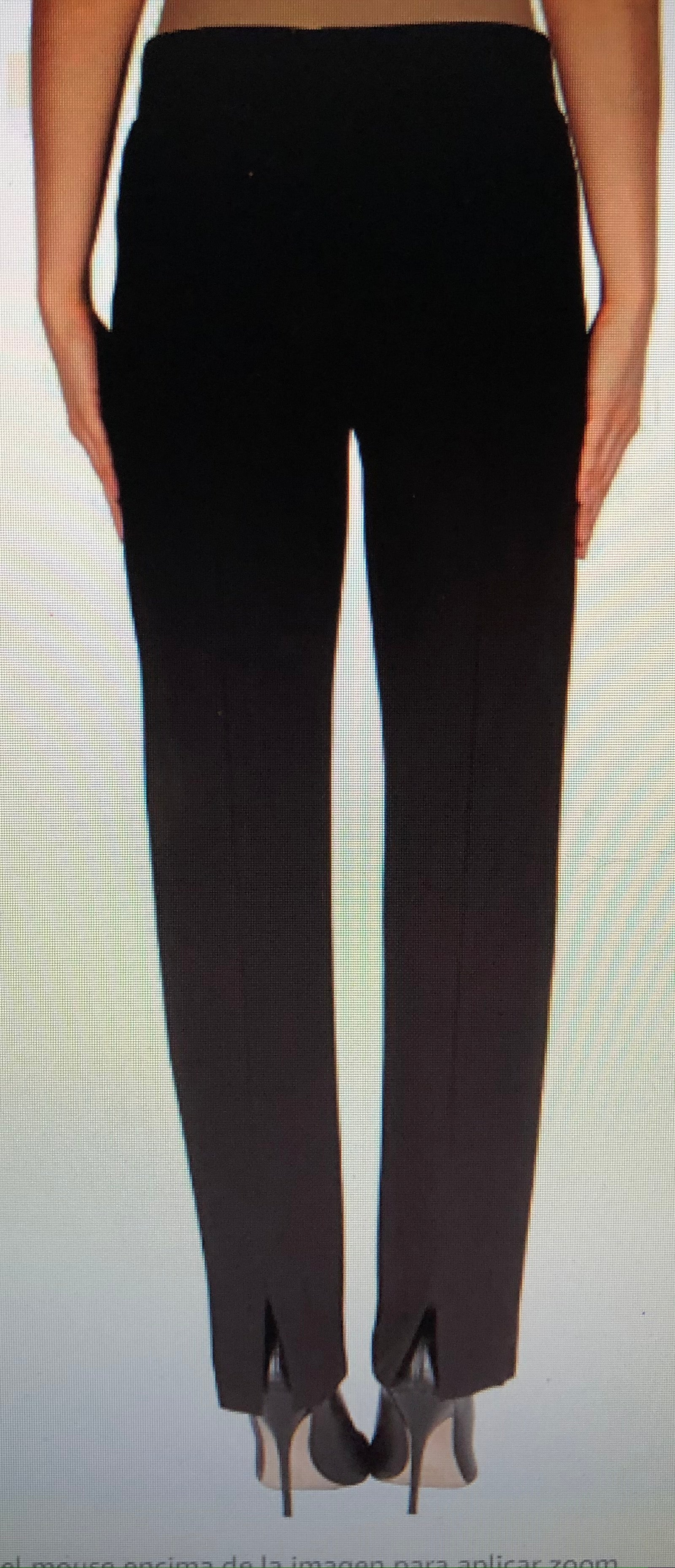 Joseph Ribkoff Black Straight Pants