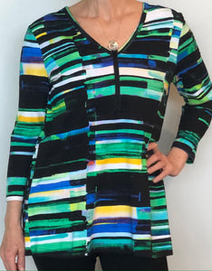 Lynn Ritchie - Silver - Top - multicolor