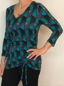 Lynn Ritchie - Top - multicolor - geometric print