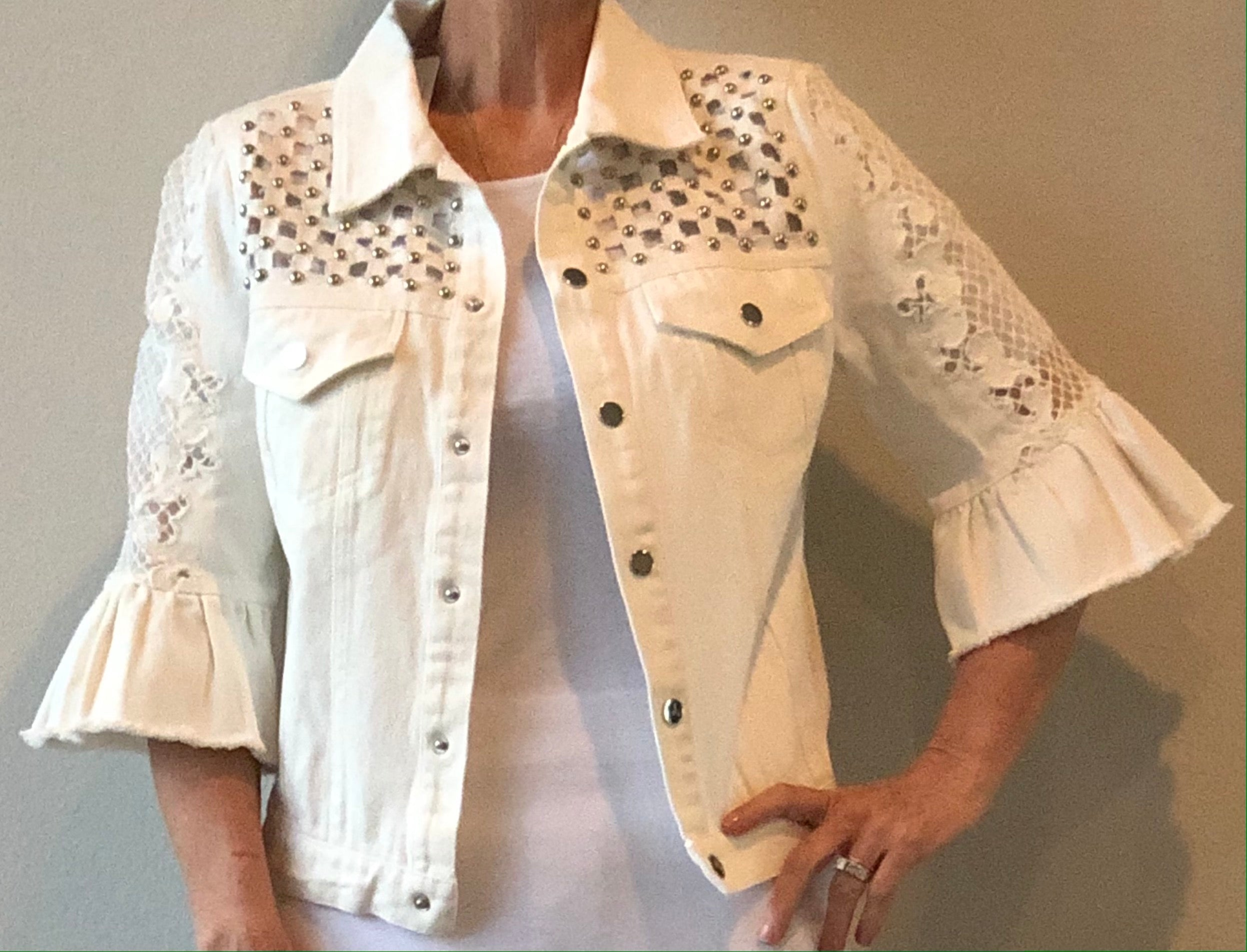 Adore - Jacket - white - cotton