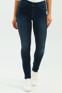 Charlie B - pull-on jeans - Infinity Stretch - Indigo