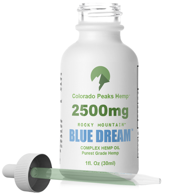 DISCONTINUING: Colorado Peaks Blue Dream - 2500mg - cbdmedix.com