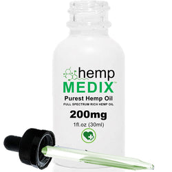 Hemp Medix - 200mg - DISCONTINUED - OUT OF STOCK - cbdmedix.com
