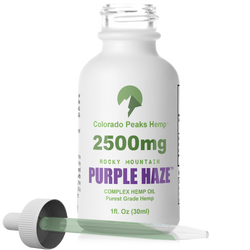Colorado Peaks Purple Haze - 2500mg - cbdmedix.com