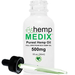 Hemp Medix - 500mg - DISCONTINUED - OUT OF STOCK - cbdmedix.com