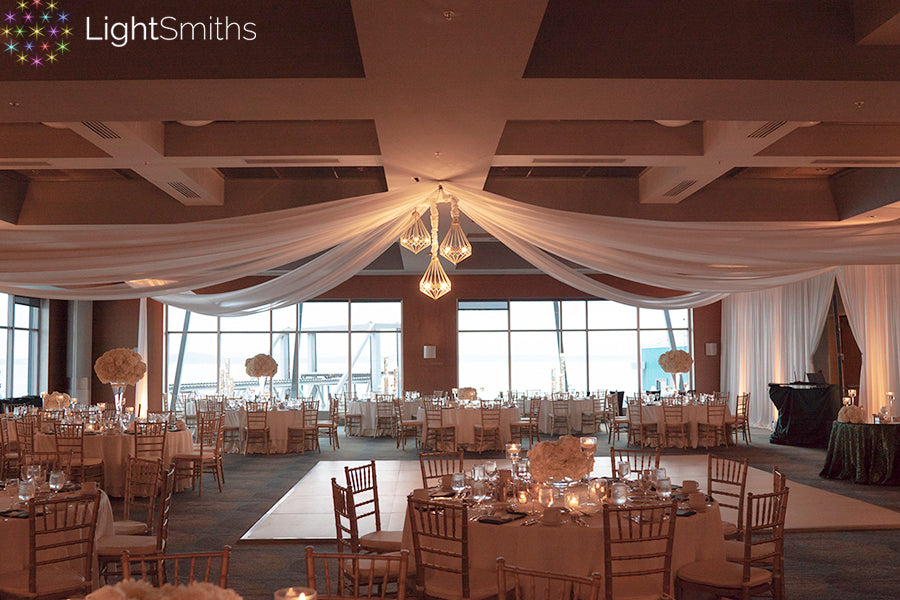 Bell Harbor Seattle Lighting, Bell Harbor Wedding Lighting, Pier 66, Seattle Weddings