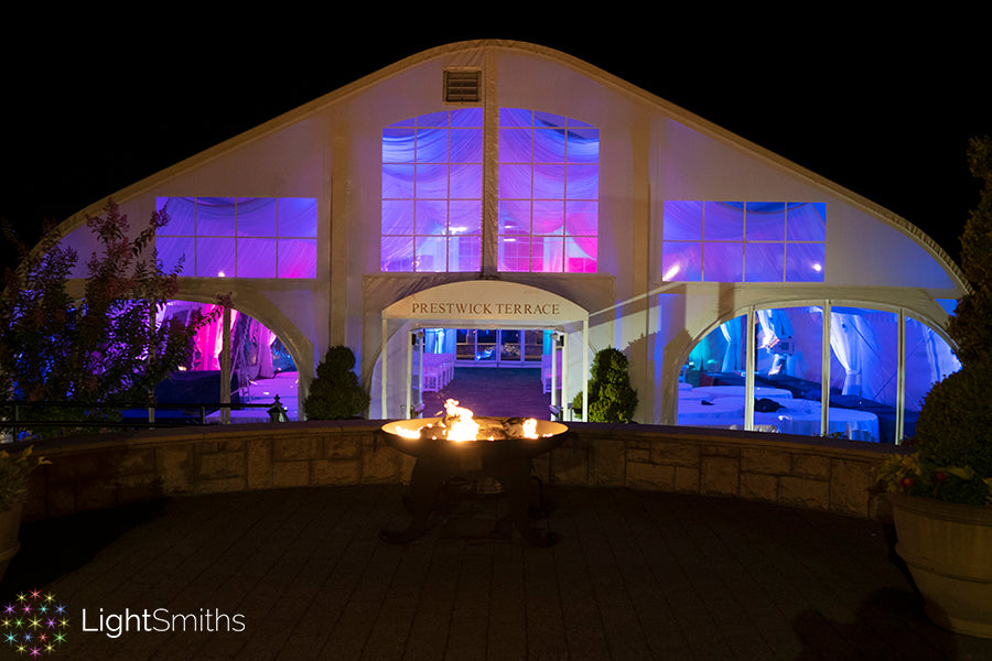 The Golf Club at Newcastle Event Lighting, Seattle Event Lighting, Seattle Wedding Lighting