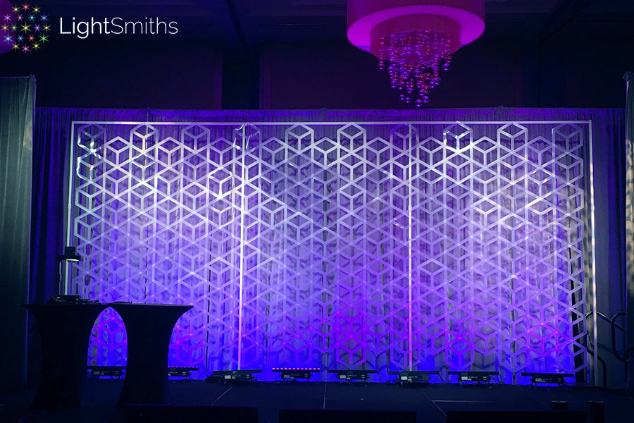 Seattle Event Lighting, LightSmiths Backdrops, Seattle Lighting
