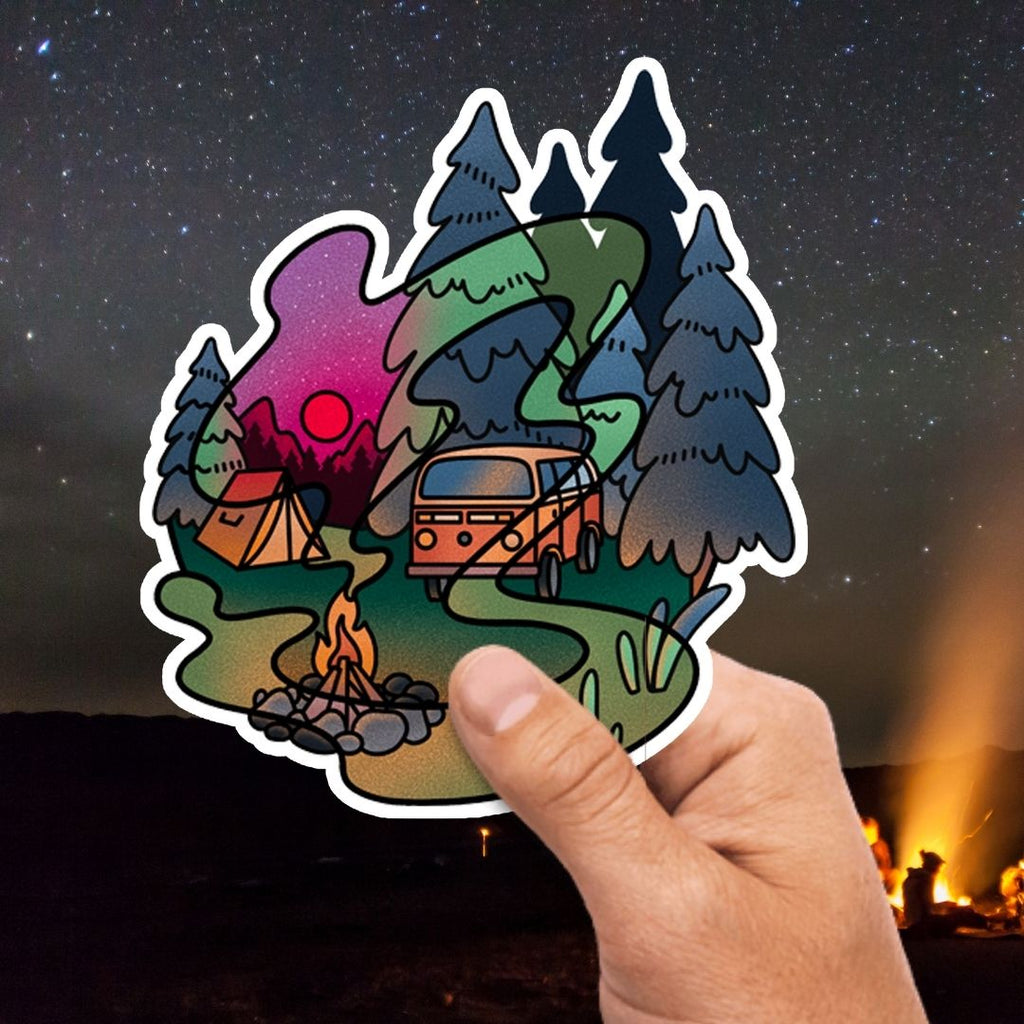Van Camp Sticker