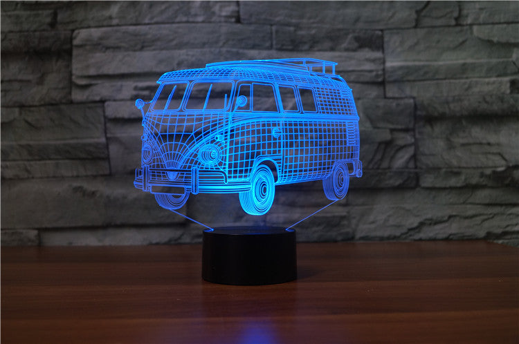 3D Campervan Night Light