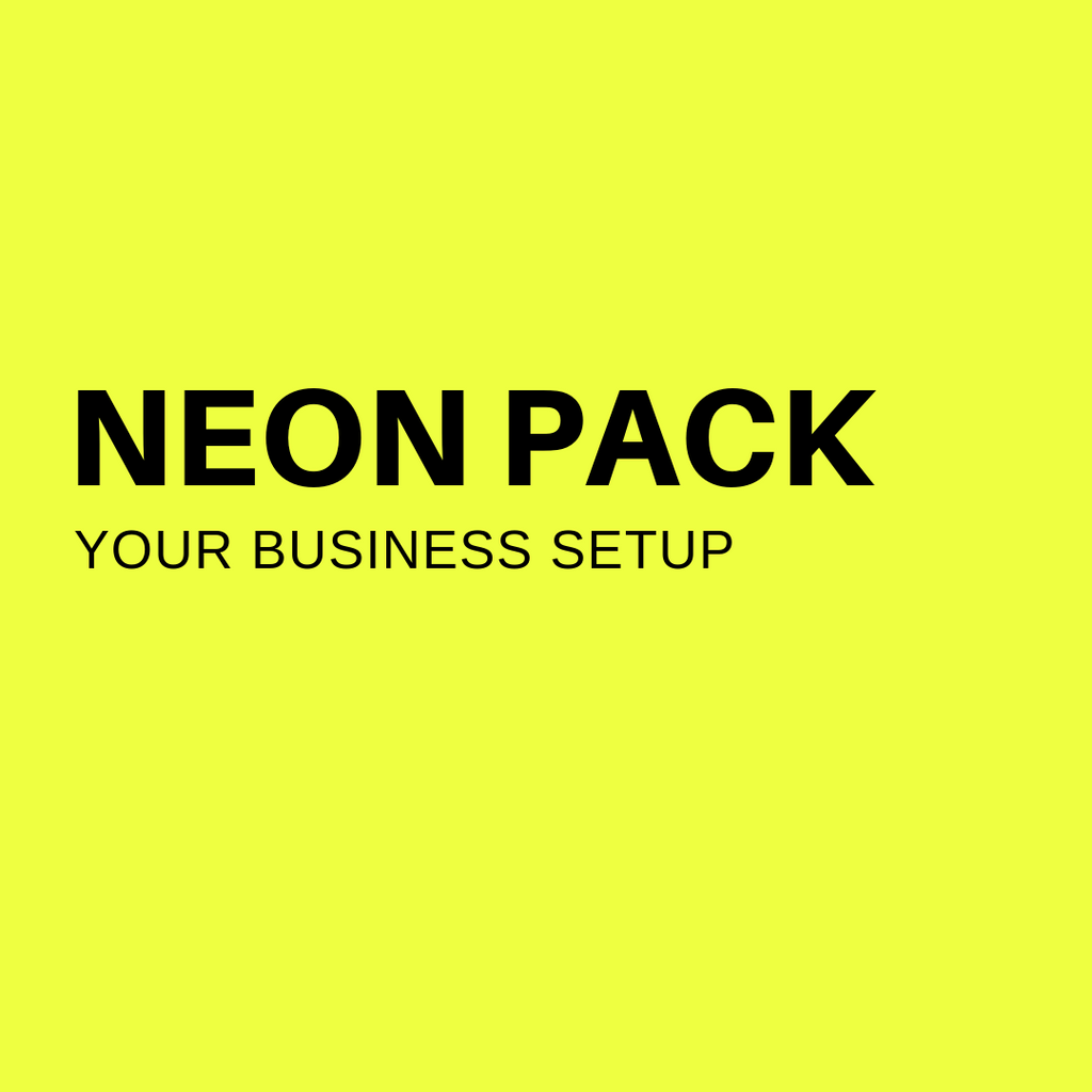 NEON PACK STRATEGY SESSIONS