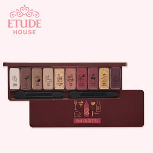 Etude HousePlay Color Eyes Wine PartyMakeup - Meow Meow Castle