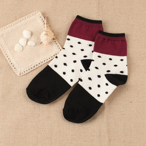 Meow Meow CastleCasual Fresh Style Pattern Print Cotton Short SocksAccessory - Meow Meow Castle