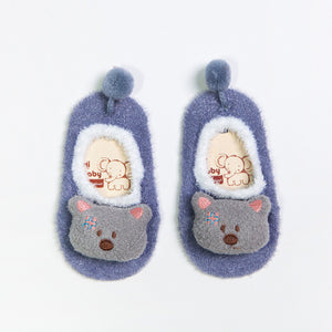 Meow Meow Castle3D Cartoon Thick Kids SockBaby - Meow Meow Castle