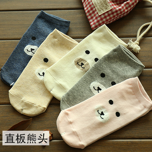 Meow Meow CastleFruit Printed Cotton Casual Cat SocksAccessory - Meow Meow Castle