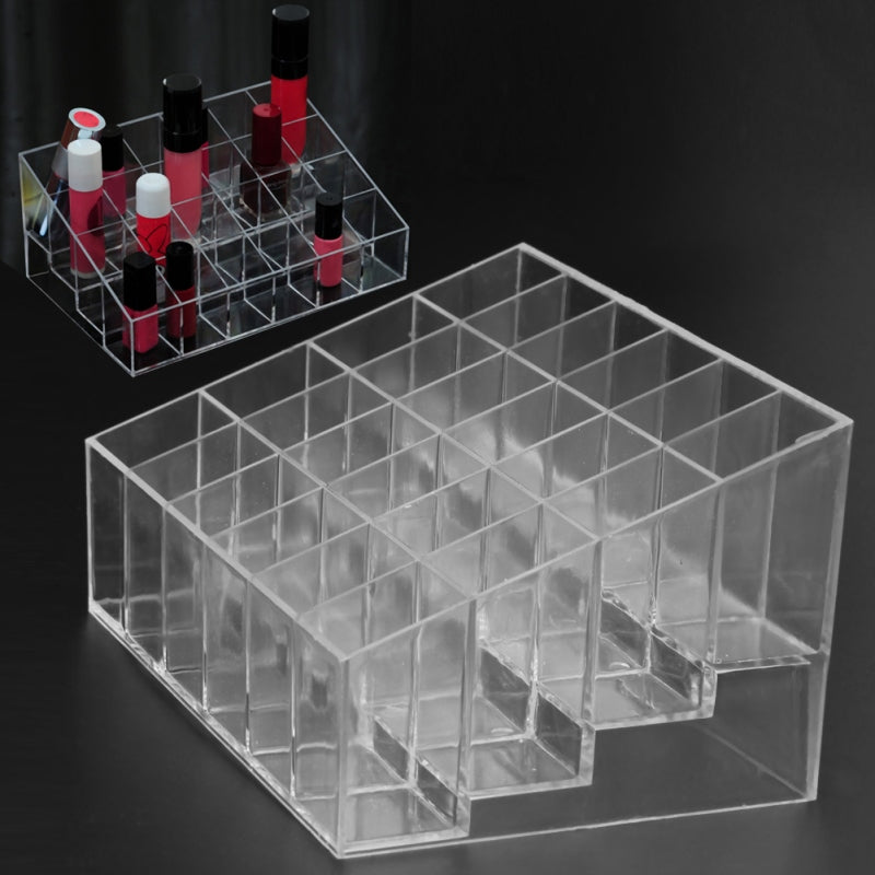 Meow Meow CastleAcrylic Makeup Organizer With 24 GridTools - Meow Meow Castle