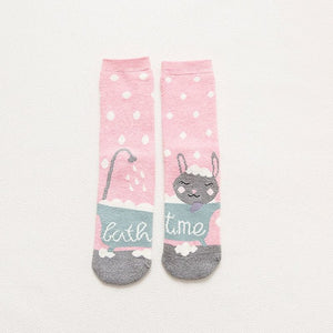 Meow Meow CastleCartoon Animal Paradise Christmas SocksAccessory - Meow Meow Castle