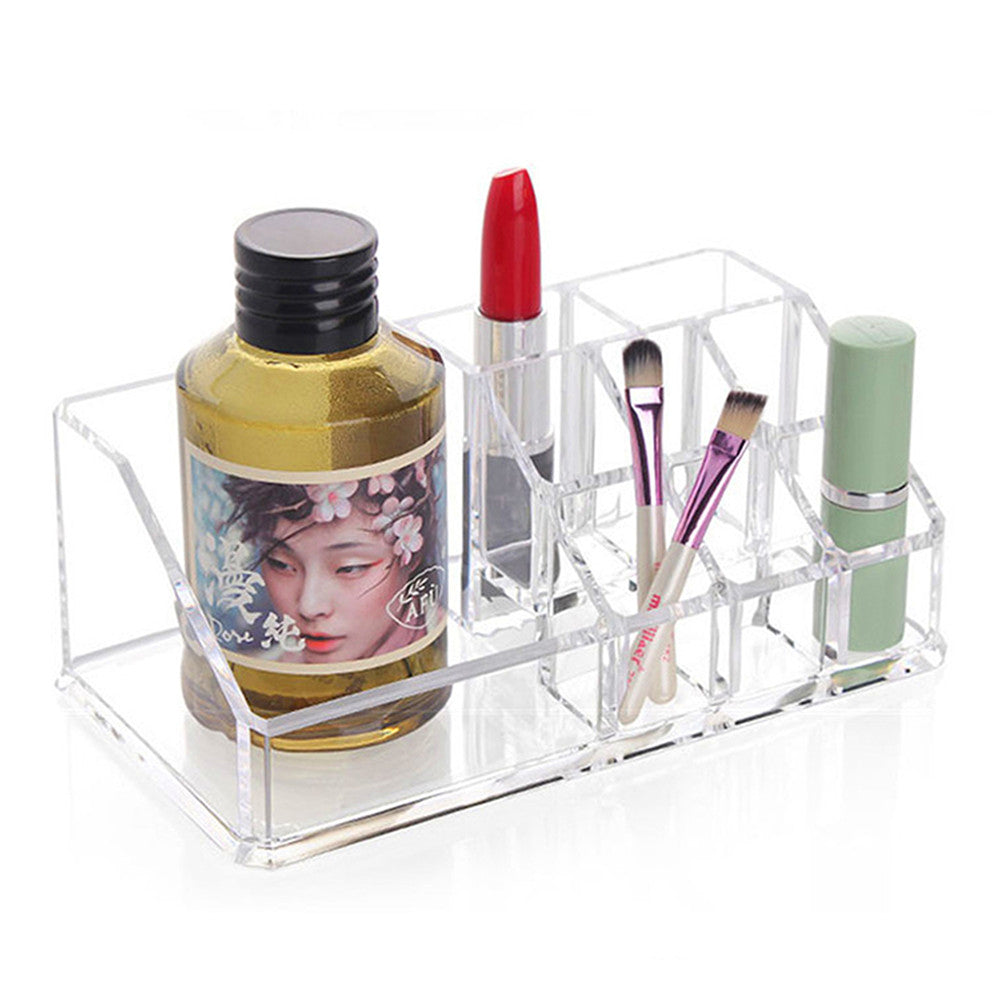 Meow Meow CastleAcrylic Cosmetic Storage With 9 CellsTools - Meow Meow Castle