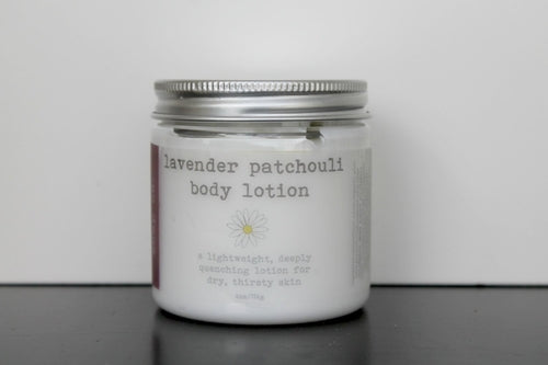 Lavender Patchouli Vegan Body Lotion