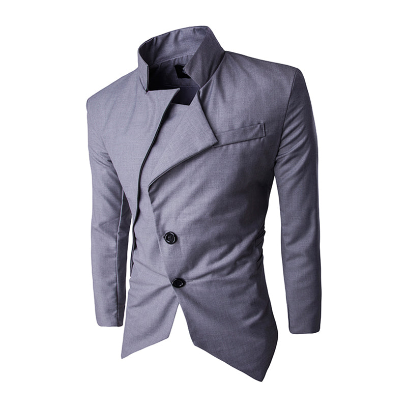 Slim Fit Single Breasted Blazer Jacket