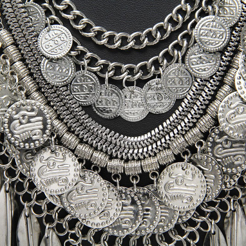 Gypsy-Inspired Coin Necklace