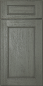 "EPWP2484D - Midtown Grey (RTA) - End Decorative Door  - Width 23-3/4"" x Height 29-5/16"" (Top Door)-49-1/4"" (Bottom Door)"