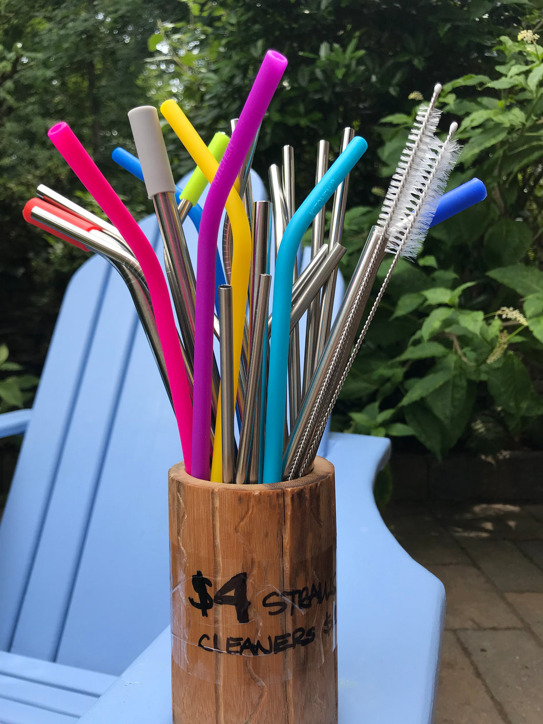 ECO: Reusable Straws and Cleaners