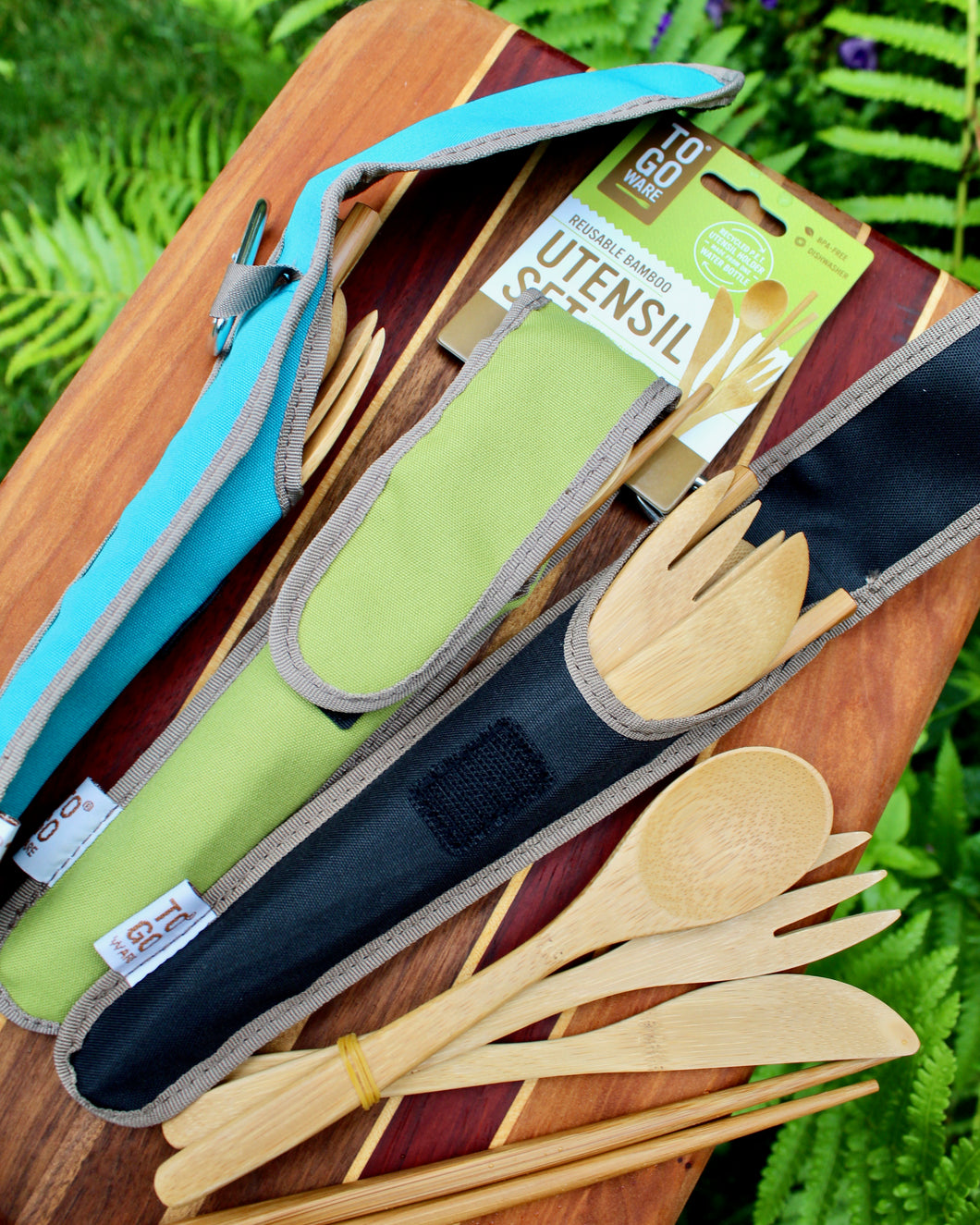 ECO Bamboo Utensil Set for Adults