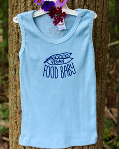 Toddler/Baby Tanks - Vegan Food Baby