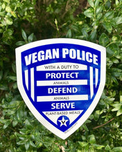 Sticker - Vegan Police