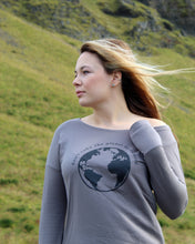 Don't Take Planet for Granted - Long Sleeve Crew - Womens