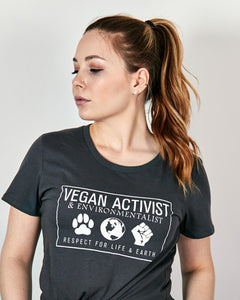 Vegan Activist - Women's Short Sleeve T-shirt