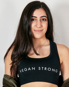 Vegan Strong - Womens Sports Bra