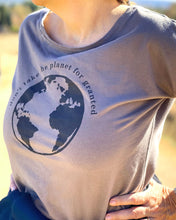 Don't Take Planet for Granted - Women's Long Sleeve Crew Shirt