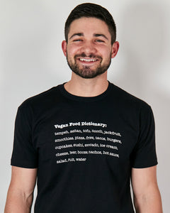 Vegan Food Dictionary - Unisex T-shirt