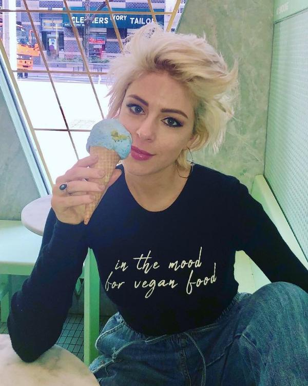 In The Mood For Vegan Food Long Sleeve Thermal