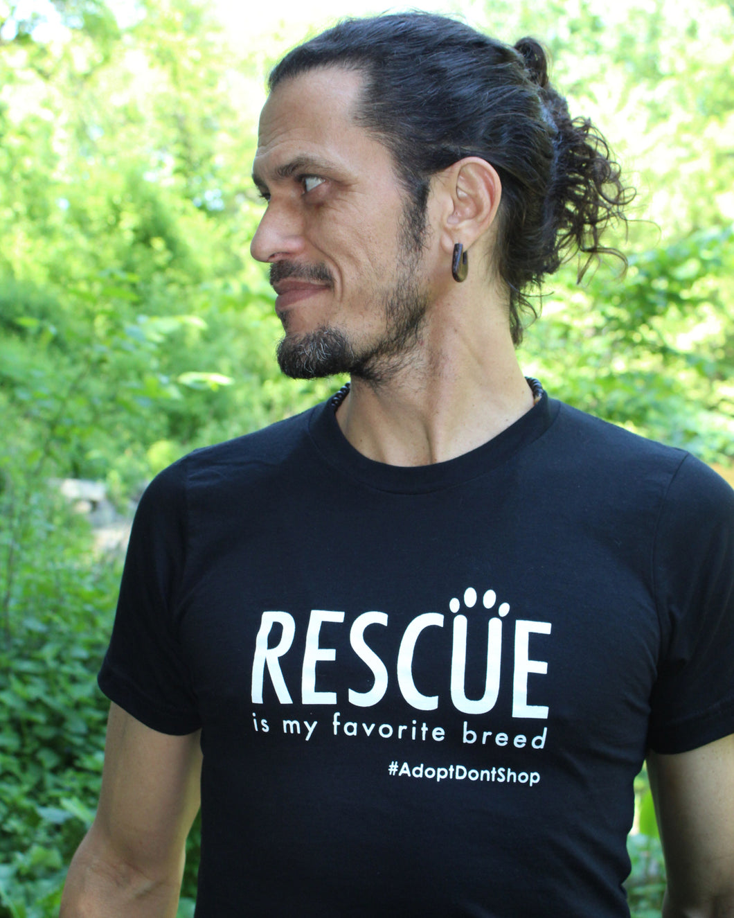 Rescue is My Favorite Breed - Unisex Short Sleeve T-shirt