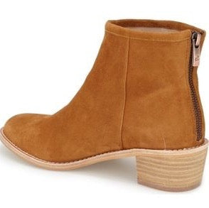 Mae Caramel Ankle Bootie