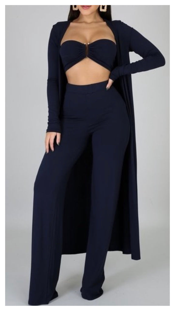 Fancy Yancy 3pc Tube Pants Set