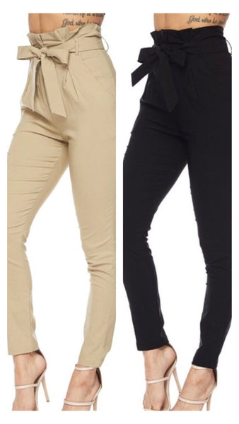 Moda Moda High Waist Skinny Pants