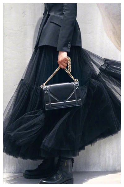Take me to the Ball Full Double Layer Tulle Skirt